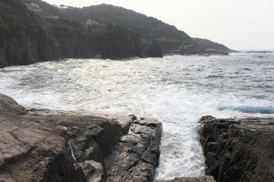 ホルンフェルス断層の写真素材 [FYI04238291]