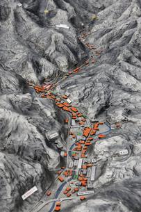 岩見銀山の模型の写真素材 [FYI04238415]