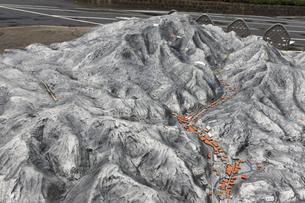 岩見銀山の模型の写真素材 [FYI04238418]