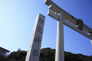 白兎神社の写真素材 [FYI04238690]