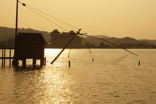 東郷湖の写真素材 [FYI04238901]