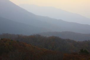 蒜山の日の出の写真素材 [FYI04238942]