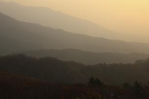 蒜山の日の出の写真素材 [FYI04238956]