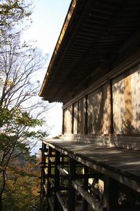 三徳山の紅葉の写真素材 [FYI04239126]