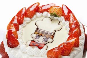 キャラクターデコレーションケーキのイラスト素材 [FYI04239723]
