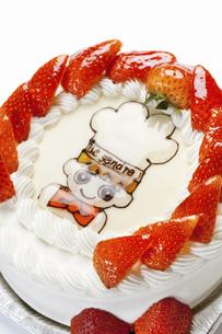 キャラクターデコレーションケーキのイラスト素材 [FYI04239724]