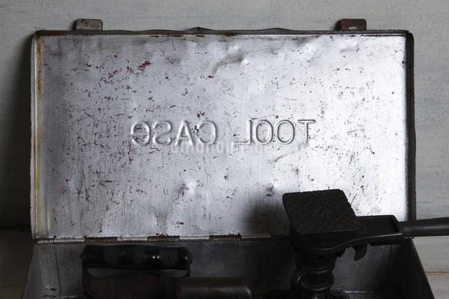 レトロな道具箱の写真素材 [FYI04241588]