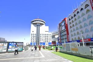 柏駅東口 常磐線の写真素材 [FYI04242144]