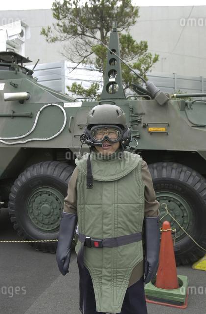 放射能防護服の写真素材 [FYI04242242]