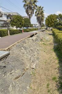 浦安市における東日本大震災の被害の写真素材 [FYI04243401]
