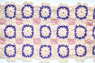 編み物のパッチワークの写真素材 [FYI04243608]
