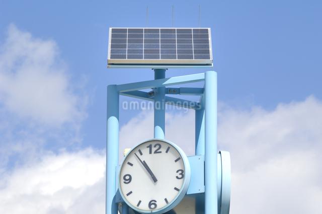 太陽光発電の写真素材 [FYI04243750]