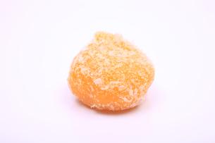 丸型の和菓子の写真素材 [FYI04244319]