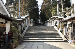 生駒聖天宝山寺参道の写真素材 [FYI04244572]