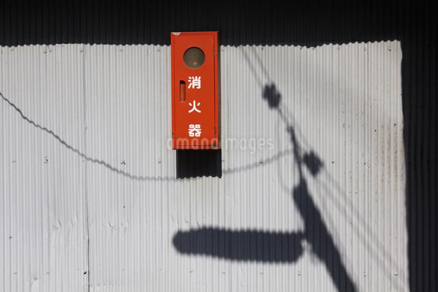 街角の消火栓の写真素材 [FYI04244878]
