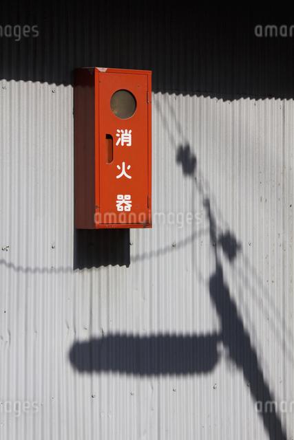 街角の消火栓の写真素材 [FYI04244880]