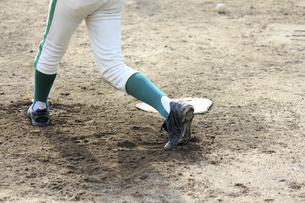 草野球のバッターの写真素材 [FYI04245515]