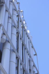工場の換気ダクトの写真素材 [FYI04245608]