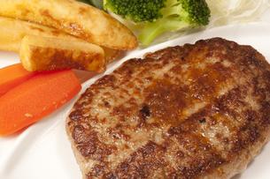 ハンバーグステーキの写真素材 [FYI04246049]