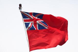 客船の英国旗の写真素材 [FYI04246274]