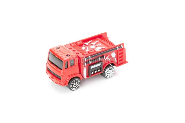 消防車の模型の写真素材 [FYI04249758]