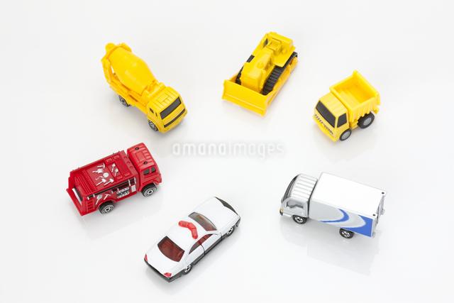 車の模型の写真素材 [FYI04249765]