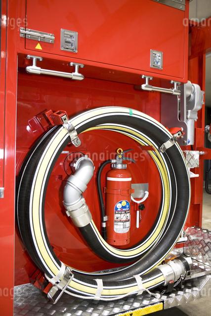 消防自動車の写真素材 [FYI04250244]