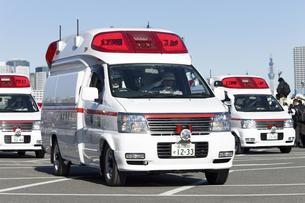 救急車の写真素材 [FYI04250251]