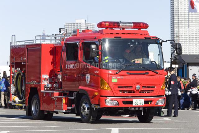 消防車 ポンプ車の写真素材 [FYI04250252]