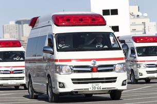 救急車の写真素材 [FYI04250253]