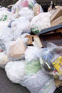 ゴミ集積所の写真素材 [FYI04250717]