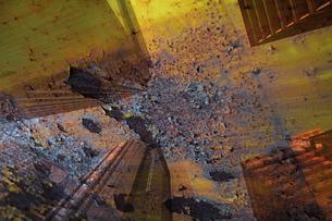 汚染される都会の合成イメージの写真素材 [FYI04252875]