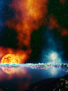 灼熱の惑星の写真素材 [FYI04253126]