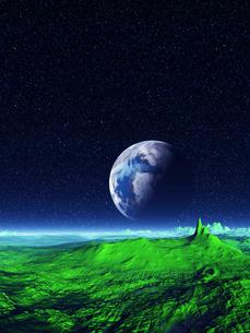 神秘の宇宙の写真素材 [FYI04253134]