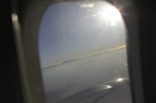 機内からの眺めのイラスト素材 [FYI04253518]