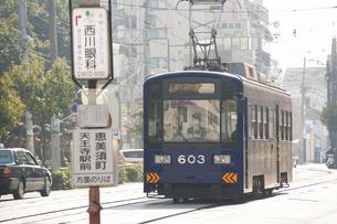 阪堺電車のイラスト素材 [FYI04254499]