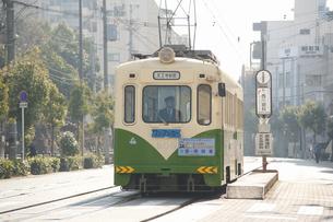 阪堺電車のイラスト素材 [FYI04254501]