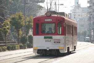 阪堺電車のイラスト素材 [FYI04254502]