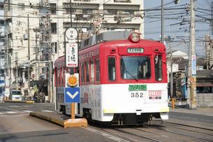 阪堺電車のイラスト素材 [FYI04254503]