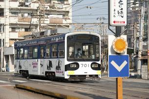 阪堺電車のイラスト素材 [FYI04254504]