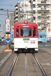 阪堺電車のイラスト素材 [FYI04254505]
