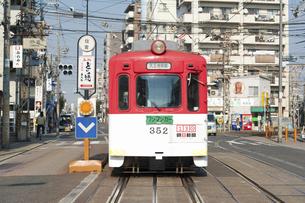 阪堺電車のイラスト素材 [FYI04254506]