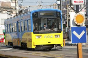 阪堺電車のイラスト素材 [FYI04254508]
