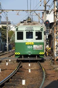 阪堺電車のイラスト素材 [FYI04254510]