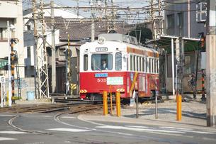 阪堺電車のイラスト素材 [FYI04254511]