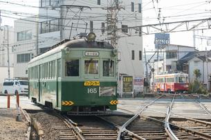 阪堺電車のイラスト素材 [FYI04254515]
