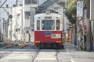 阪堺電車のイラスト素材 [FYI04254516]