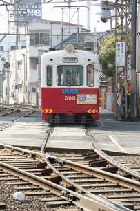 阪堺電車のイラスト素材 [FYI04254518]