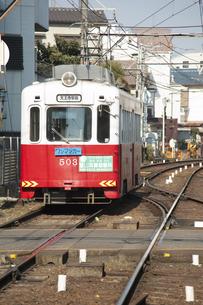 阪堺電車のイラスト素材 [FYI04254519]