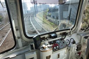 阪堺電車の運転席のイラスト素材 [FYI04254523]